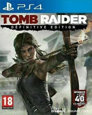 Tomb Raider: Definitive Edition (Sony PlayStation )