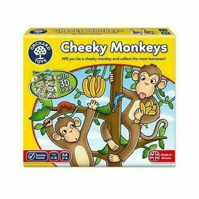 Orchard Toys Cheeky Monkeys Educational Game Puzzle