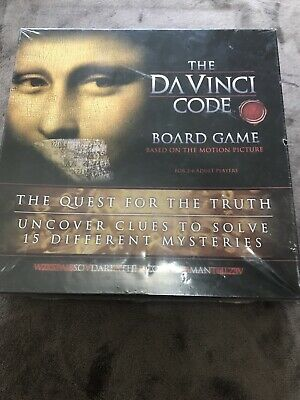 THE DAVINCI CODE BOARD GAME based On The Motion Picture -