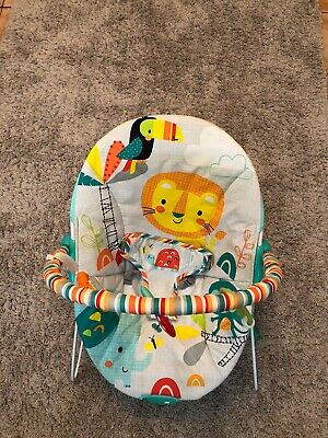 Chad Valley Jungle Friend Delux Bouncer Adjustable 3 Point