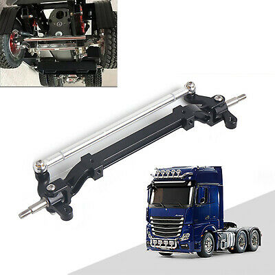 For TAMIYA 1/14 RC Tractor Truck Car Front Steering Axle