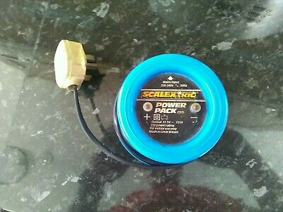 Scalextric Classic Power Pack Supply C919 Transformer Blue