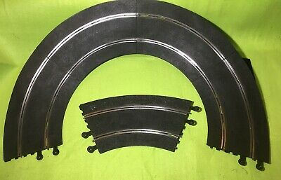 Vintage Scalextric Classic Track Banked Curves 5 x C