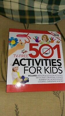 501 activities for children to do book, brand new, from