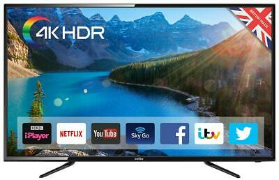 """58"""" Ultra HD 4K Smart LED TV with Freeview HDC58SFS4K"""