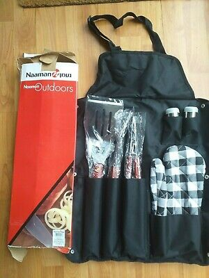 BBQ Cooking Utensil Set Barbecue Grilling Apron Spatula