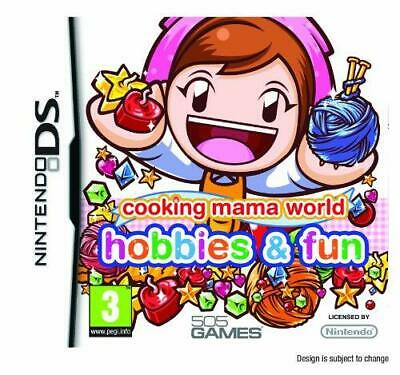 Cooking Mama World: Hobbies and Fun (Nintendo DS), Very Good