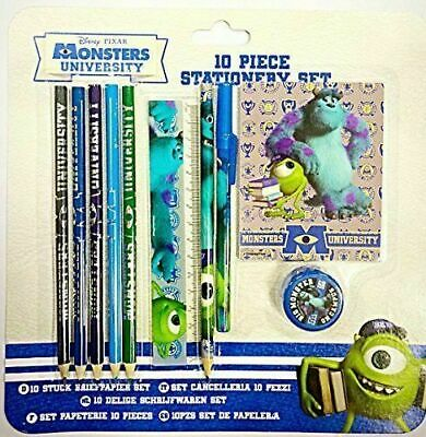 Disney Pixar Monsters University 10 Piece Stationery