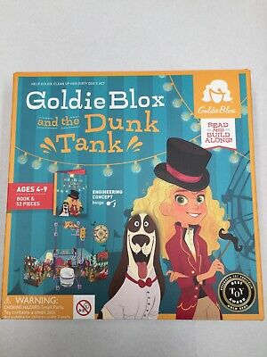 Goldie Blox And The Dunk Tank Game
