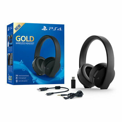 Sony Playstation Wireless Stereo Headset Gold Edition, 7.1
