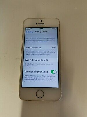 iPhone SE 16GB Gold Locked to Vodafone No Touch ID