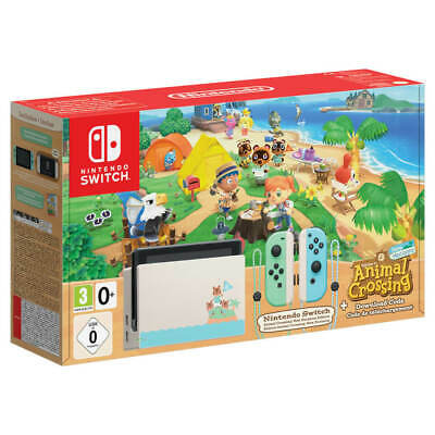 Nintendo Switch Animal Crossing New Horizons Console Edition