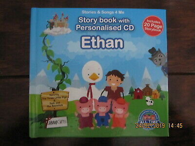 STORY BOOK WITH PERSONALISED CD ETHAN