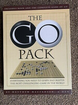 The GO pack game-includes book/guide by Mathew Macfadyen.
