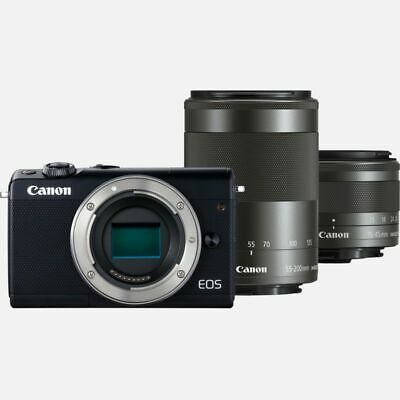 Canon Eos M100 Camera TWIN KIT with EF-Mmm STM & EF