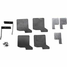 for 4 Mud Flaps Front & Rear Rubber Fender for 1/10 RC Cler