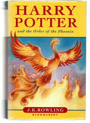 Harry Potter & The Order of the Phoenix Hardback Book,