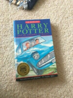Harry Potter and the Chamber of Secrets J.K. Rowling 1st
