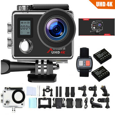 Action Camera Campark 4K/30fps Wifi Sport Waterproof Cam