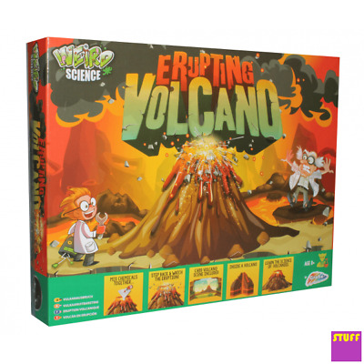 Create Your Own Volcano Eruption For Kids World Of Science