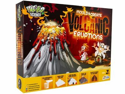 Create and Mould Volcanic Eruptions Experiment Kit By Weird