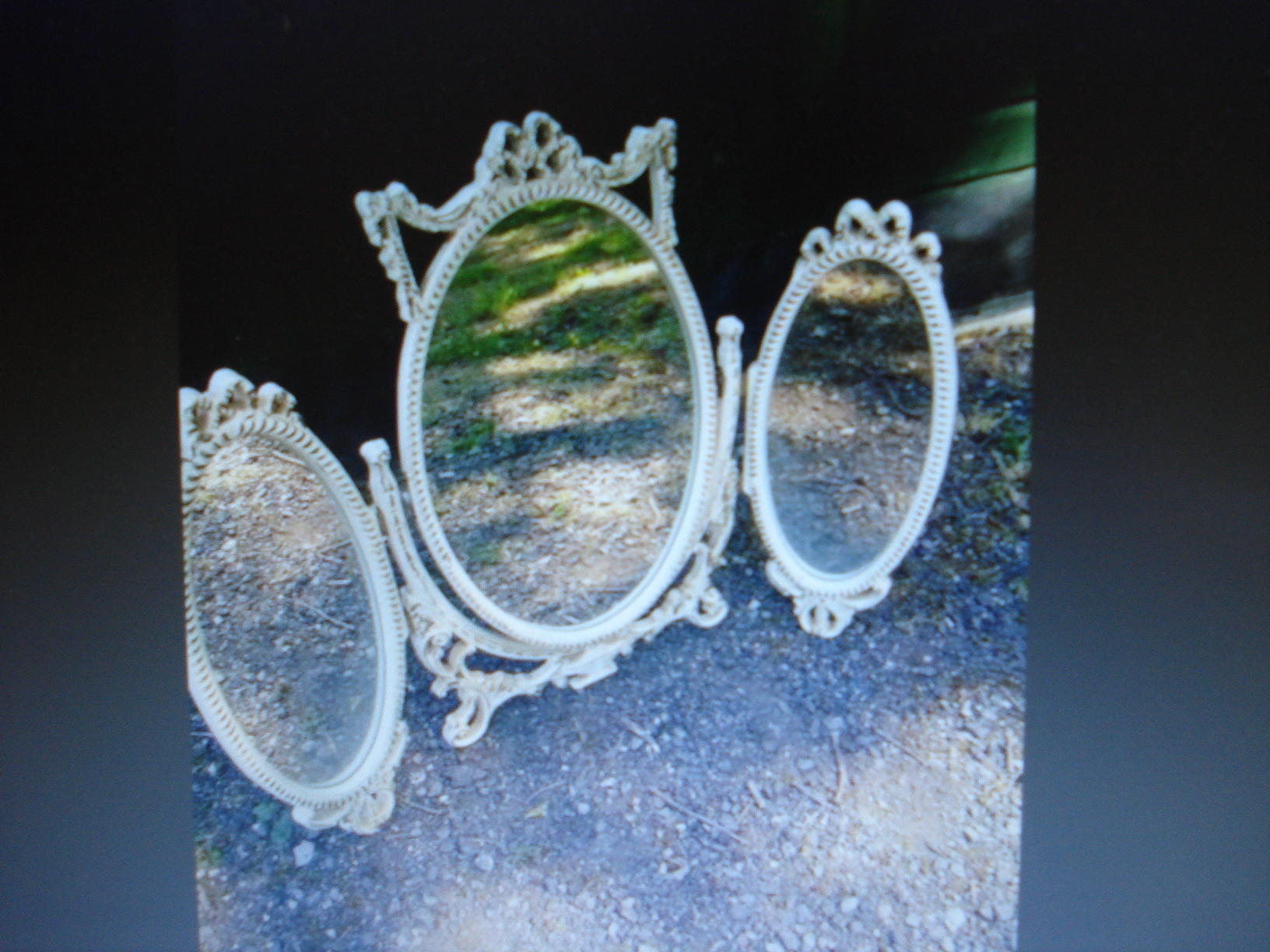 Dressing Table Mirror, French Style