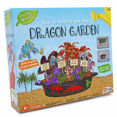 Grow & Decorate Your Own Dragon Garden Castle Plants DIY