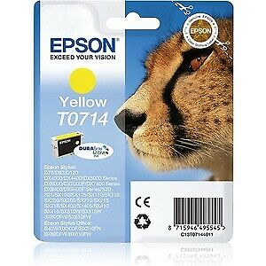 NEW! Epson Ink Cartridge Yellow Inkjet 450 Pages