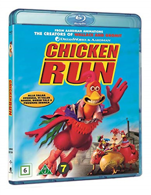 Chicken Run [Danish Import] (US IMPORT) BLU-RAY NEW