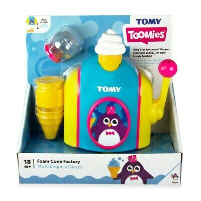 Tomy Toomies Foam Ice Cone Factory, Baby Bath playing Toy
