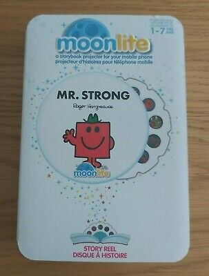 Moonlite Mr Strong Story Reel For Storybook Projector Kids