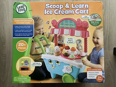 New Pink Leapfrog Scoop and Learn Ice Cream Cart Ideal