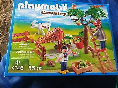 Playmobil  Country Set 55 Pieces Apple Harvesting NEW IN