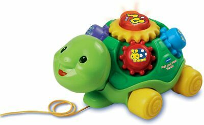 VTech Baby Pull and Play Turtle Green