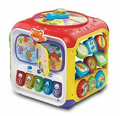 VTech, Sort & Discover Baby Activity Cube, Baby Play Centre,