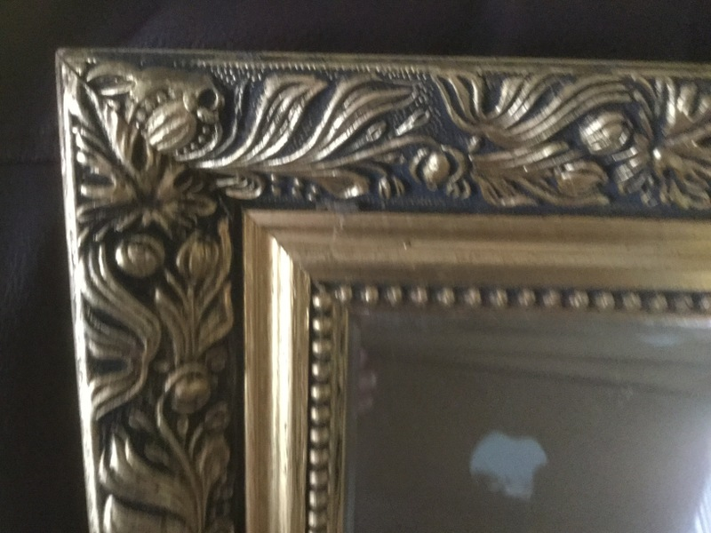 Mirror, Large antique style