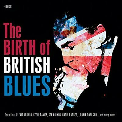 Various Artists-The Birth Of British Blues (US IMPORT) CD