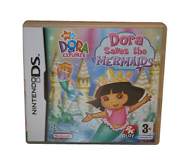 Dora the Explorer: Dora Saves the Mermaids (Nintendo DS,