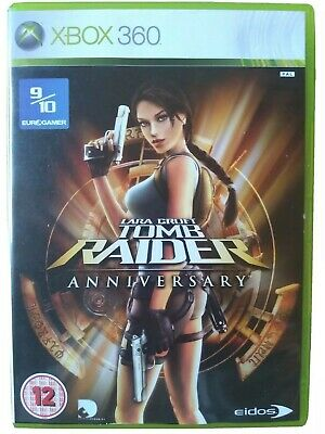 LARA CROFT TOMB RAIDER: Anniversary - Xbox 360. Manual