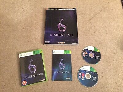 Resident Evil 6 Xbox 360 & Strategy Guide.