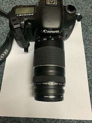 Canon EOS 7D 18.0 MP Digital SLR Camera with 75mm-300mm Lens