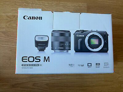 Canon EOS M 18.0 MP Digital Camera Kit with EF-M mm