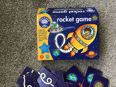 Educational Childrens Game Orchard Toys Age 4-7 Yrs Rocket