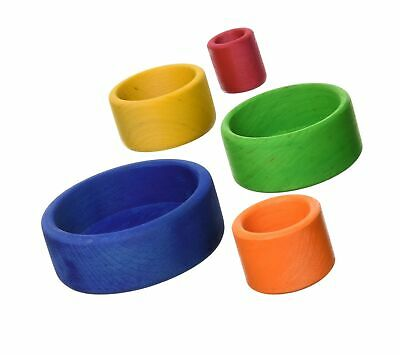 Grimm's Toys Small Stacking Bowls