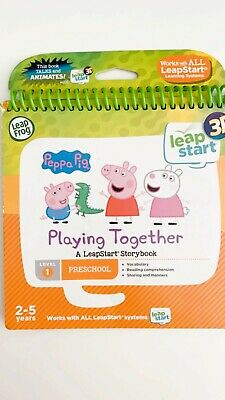 LeapFrog 3D LeapStart Peppa Pig Story Book Learning Toy used