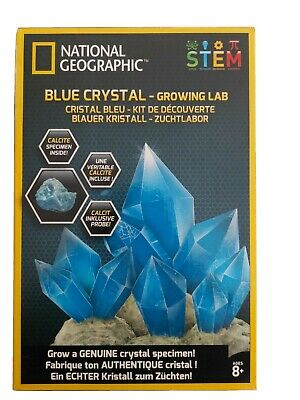 National Geographic STEM Science and Geology Kits blue