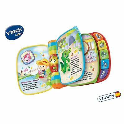 VTech Baby - First songs, musical book. multicoloured