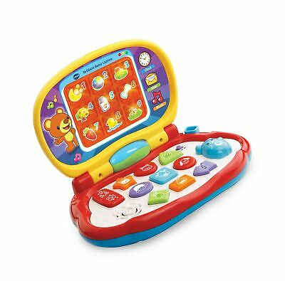 Vtech Baby Laptop Toy,Multicolor without batteries