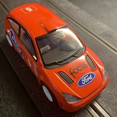 SCALEXTRIC C FORD FOCUS CAR RED NO 5