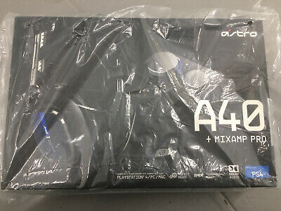 Logitech Astro A40 TR Gaming Headset & Mixamp Pro TR for PS4